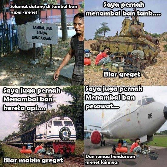 Tambal Ban Semua Kendaraan yg GREGET.....