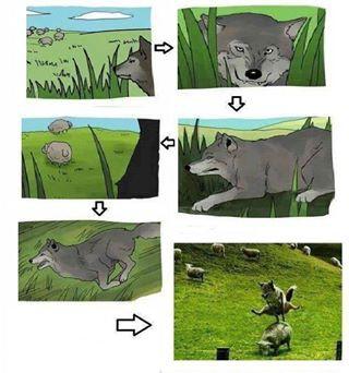 serigala koplak,, :D