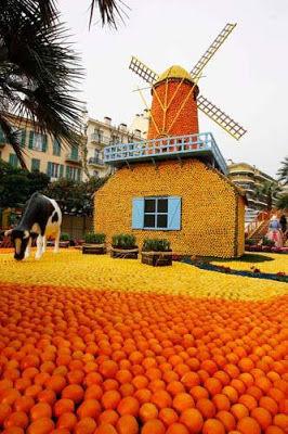 SESUATU YANG WOOW NICH,.,. kebayang gag siihh abis berapa kilo jeruk,.,.,. WOOWW Orange Sculptures Part 3.,, KLIK WOOW nya yaa,.,. :-)