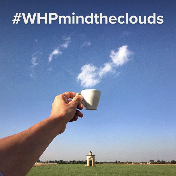 Nice Timing #2 Asap kopinya dari awan