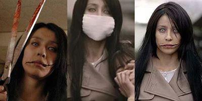 egenda Urban Paling Ditakuti Di Jepang (part 2.) KUCHISAKE ONNA si Mulut Robek Mengenakan masker untuk melindungi diri dari debu atau virus adalah hal yang biasa. Namun hati-hati jika di Jepang Anda bertemu seorang perempuan mengenakan masker
