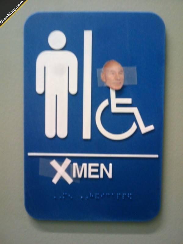 X-Men Bathroom :D