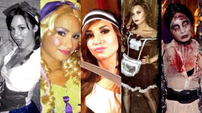 The Halloween Photos of Demi Lovato