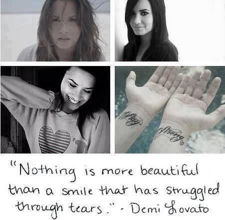 A Quote from Demi Lovato