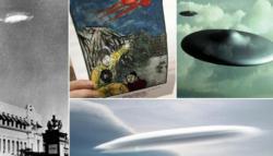 Tujuh Penampakan Benda Misterius UFO di 2013