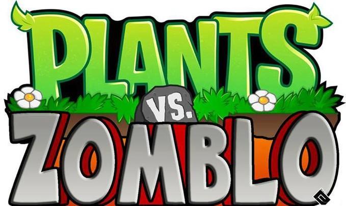 wow sekarang ada game plants vs zomblo :v