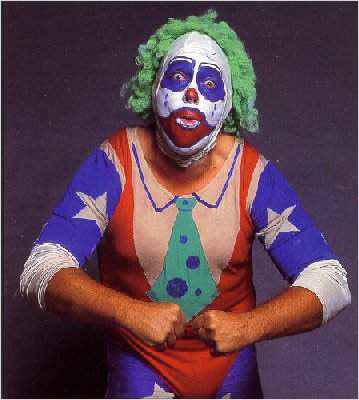 Doing the clown pemain smackdown termasuk kategori terseram