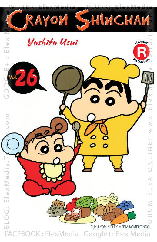 #BukuBaru Segera Terbit! Bu Yoshinaga dan Pak Ishizaka berencana untuk menikah, dan resepsinya akan diadakan di TK Action! CRAYON SHINCHAN vol. 26 http://ow.ly/sevEg mobile http://ow.ly/sevFG Harga: Rp. 21,800