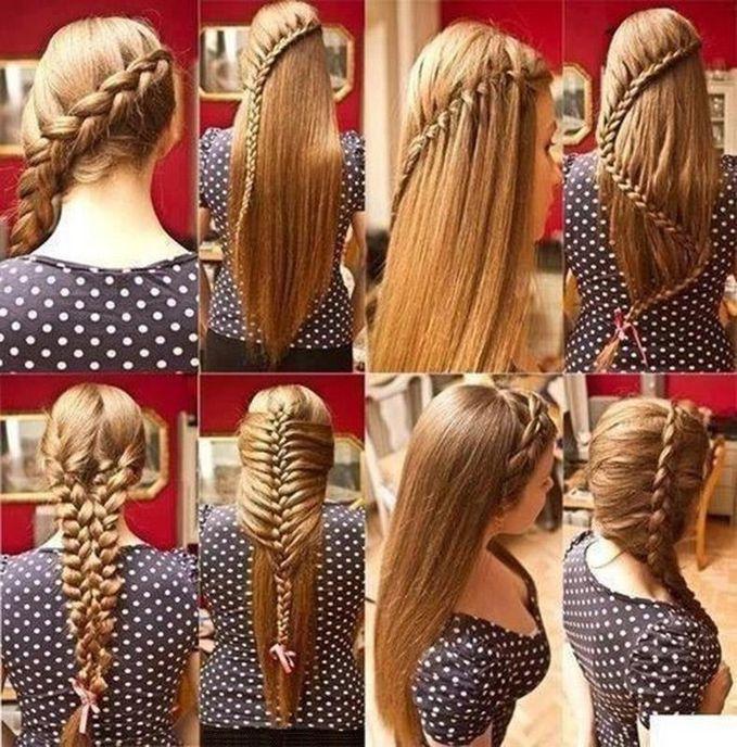 model rambut kepang