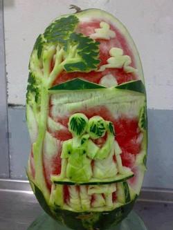 kreasi dari buah semangka !