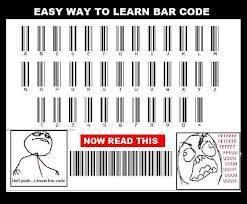 ni ane kasih tau cara baca Barcode.. tapi di jawab juga ya pertanyaan nya... Jangan lupa WOW nya... #Dafuq
