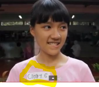 Cindy JKT48 saat masih audisi