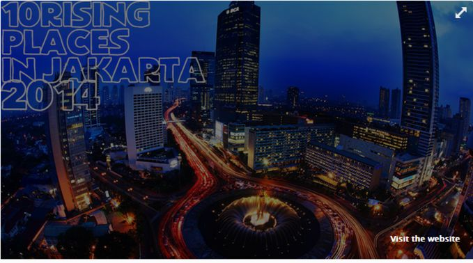 10 RISING PLACE IN JAKARTA 2014