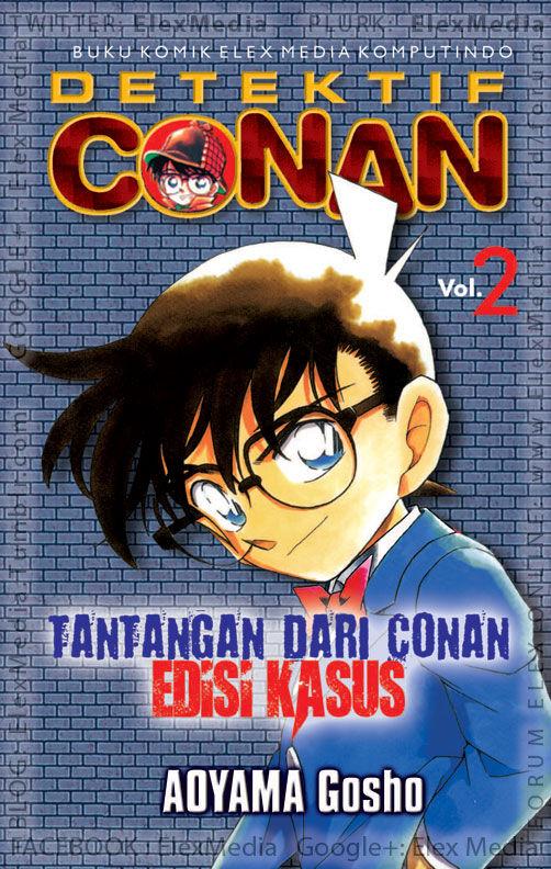 #BukuBaru Segera Terbit! Tujuh kasus sulit pilihan Detektif Conan! Bisakah kamu menjadi detektif seperti Conan? TANTANGAN DARI CONAN vol. 02: EDISI KASUS http://ow.ly/sDpla mobile http://ow.ly/sDpmG Harga: Rp. 25,000