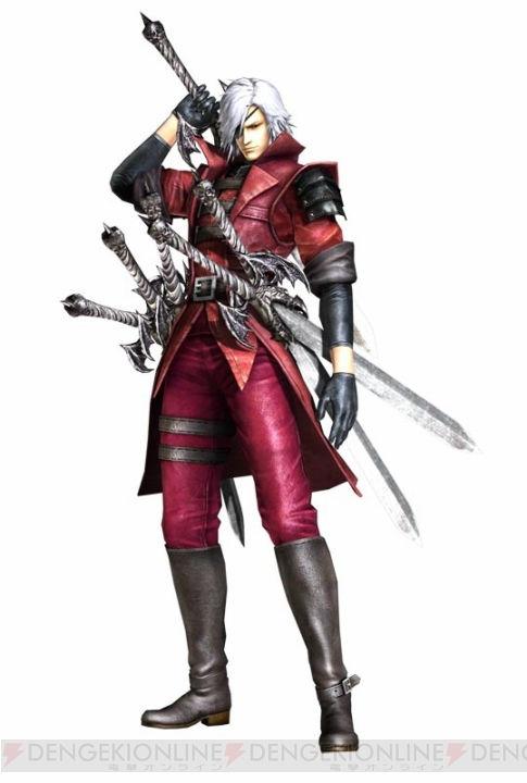 Capcom mengumumkan bahwa akan ada DLC kostum untuk Masamune Date berupa kostum Dante dari Devil May Cry 4 yang merubah Date menjadi Dante sang pemburu iblis Kostum ini akan tersedia di Playstation Network seharga 300 Yen,dan aakn hadir di PS3