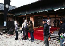 Ungkapan kostum Shishio Makoto di balik layar live action Rurouni Kenshin
