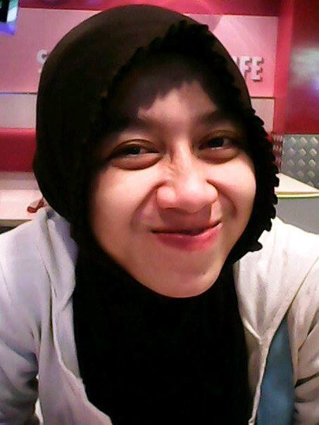 My wife .... keep calm and smile together ... :)