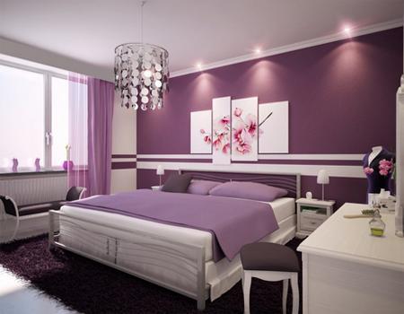 Desain kamar tidur bernuansa ungu tampak elegan dan indah Lihat selengkapnya di : http://desain-rumah13.blogspot.com/2014/01/desain-kamar-tidur-bernuansa-ungu.html