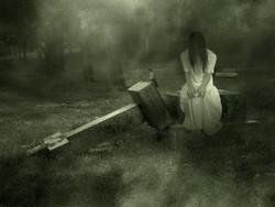 Hantu Ini Sedang Sedih...... Ketik WOW pada koment, dan KLIK pada Wajahnya dan LIHAT APA YANG TERJADI...... !!!