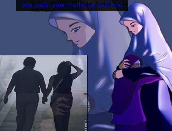 Ibu selalu memeluk kita dengan Penuh kasih sayang yang tulus Pacar memeluk kita dengan Penuh kasih sayang,tapi itu dusta Nah kalau menurut kamu gimana?