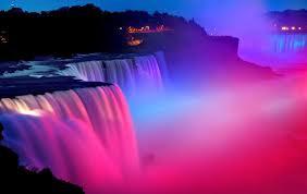 Subhanallah.... Indahnya Air Terjun Niagara
