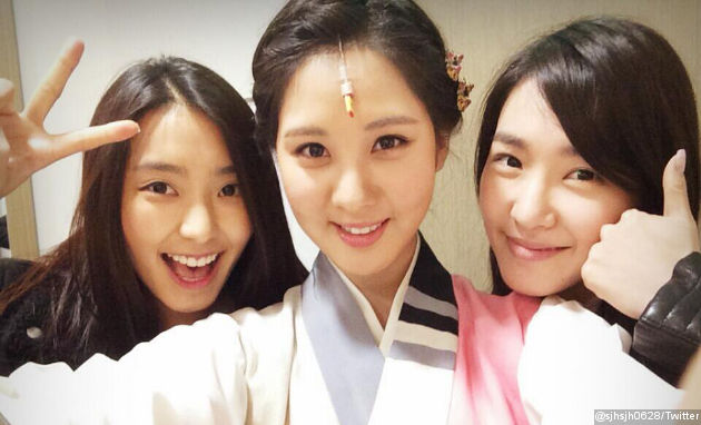 Seohyun SNSD Pamer Bora Sistar dan Tiffany Nonton Musikalnya Read more: http://www.wowkeren.com/berita/tampil/00045605.html#ixzz2rsBFI4V3