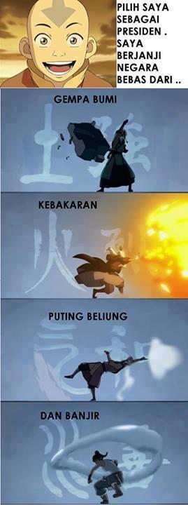 Jika Aang Menjadi Presiden , Ngakak Gua ! kwkwkwk