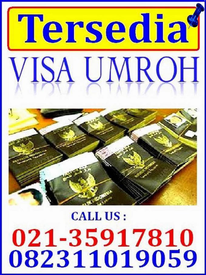 Ingin Membeli Visa Umroh Murah...? Call Us : 021-35917810 / 082311019059 | Email : sentratourtravel@gmail.com | http://bit.ly/TempatYangJualVisaUmrohMurah #BeliVisaUmroh #JualVisaUmroh #VisaUmroh #UmrohMurah
