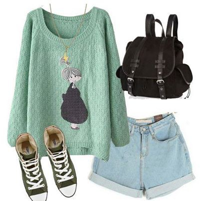 It is cute!!!! The girl is lovely! #sweater find it: http://bit.ly/1faORSA