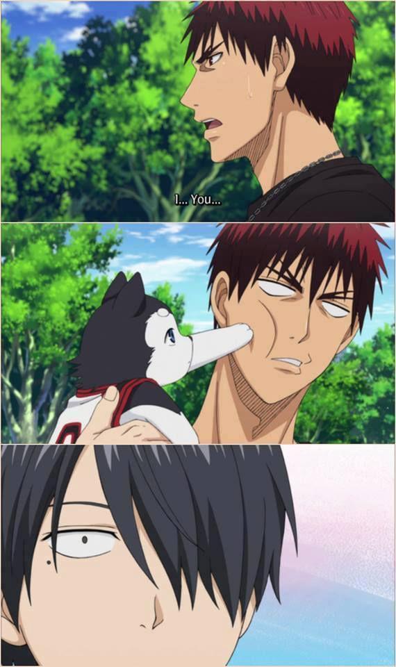 ahahaha... remember this moment? ;) anime: kuroko no basuke