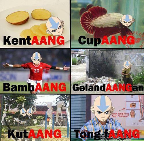 Beberapa Bahasa AANG
