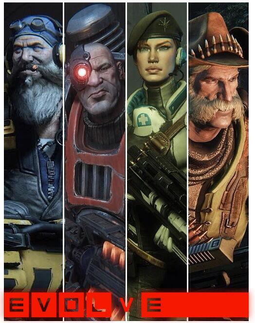 Ada game keren gan, versi multiplayer co-op dari kreator Left4Dead! EVOLVE ini bertipe shooter, player bisa pilih jadi tim pemburu beranggotakan 4 orang atau cukup menjadi 1 monster gede saja! Preview-nya klik gambar ya ^_^