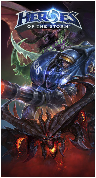 Recommended for gamers! Game keren banget buat yg doyan maen Warcraft, WOW, ama StarCraft...tipenya MOBA yang lagi nge-tren ^_^ Judulnya catet gan, Heroes of the Storm, preview awal klik gambar ya! Tq