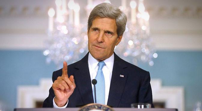 "Menlu AS: Di Mata Kami, Indonesia Pemimpin Kawasansekaligus mitra dalam mendorong perdamaian dan kesejahteraan dan mengatasi perubahan iklim global,"" ungkap Kerry dalam"