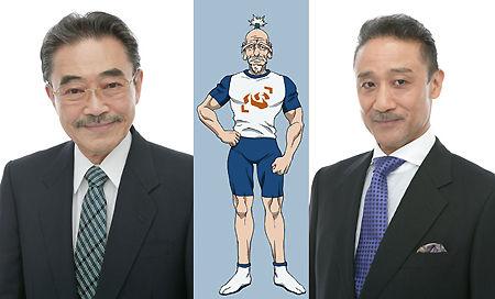 #InfoBuku Banjou Ginga (kanan) akan menggantikan Ichiro Nagai untuk mengisi suara Netero (kepala Asosisasi Hunter) dalam anime Hunter X Hunter Simak berita selengkapnya di http://ow.ly/tJ3mZ mobile http://ow.ly/tJ3pV ^_^