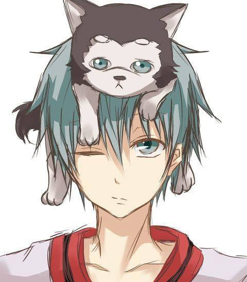 kuroko tetsuya with number 2!!!! anime: kuroko no basuke ;) plzzz like Anime All Genres on facebook ^_^)//