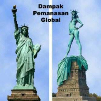 akibat pemanasan global... wow nya donk! http://goo.gl/NVdSE7