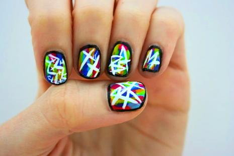 Consider The Concept Of Graffiti Nails