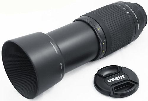 Lensa tele Nikon 70-300 yang sudah nggak di pakai di saya ,