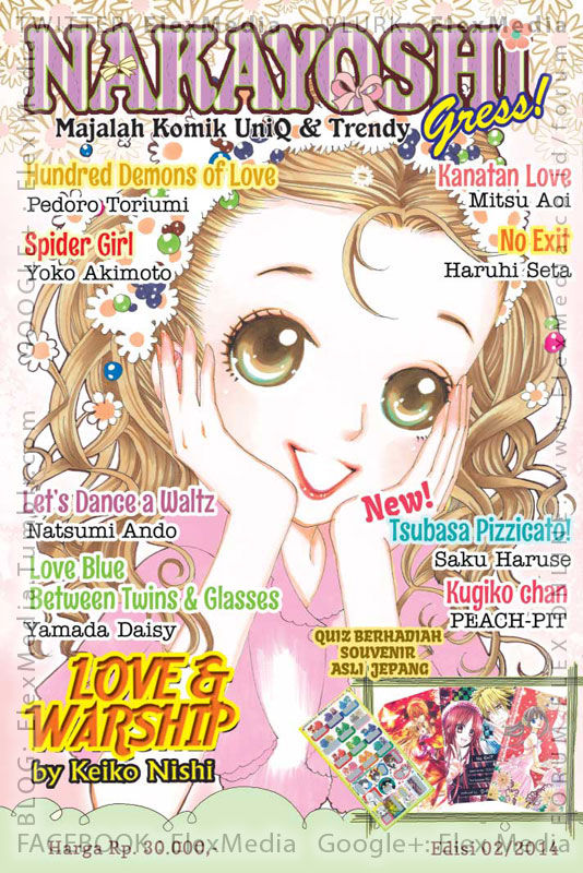 #BukuBaru Segera Terbit! Ikuti lanjutan kisah-kisah menarik dan quiz berhadiah souvenir asli dari Jepang di... NAKAYOSHI 02/2014 http://ow.ly/tQqQD mobile http://ow.ly/tQqSk Harga: Rp. 30,000