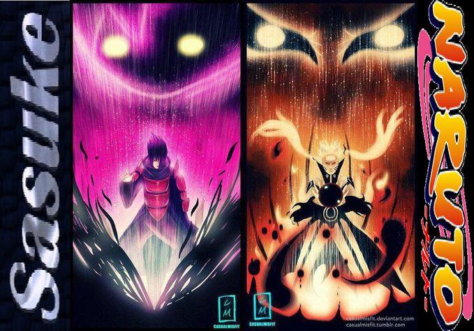 pertemuan antara 2 shinobi naruto vs sasuke