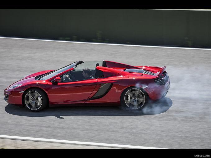 Mclaren Mp4-12C, salah satu karya mclaren dengan mesin V8 twin turbo 592 HP, mampu mencapai 333km/h dengan akselerasi 0-100 3.1 detik. Mobil ini mampu bersaing dengan Ferrari 458 Italia dan Lamborghini Gallardo Ada yang ingin punya?