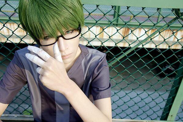 Cosplay Midorimachi Dari anime Kuroko no Basket. Gimana menurut agan? (ane rate 10 dah)