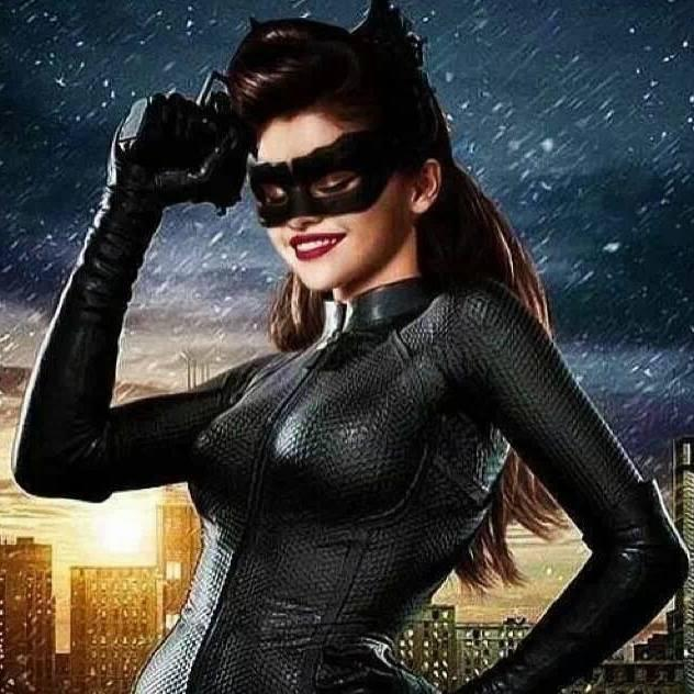 Selena Gomez as Selena Kyle a.k.a. Catwoman