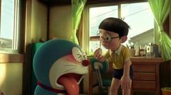 """Liputan6.com, Tokyo Rasa gembira akan kehadiran film Doraemon versi 3D nampaknya harus dihiasi dengan airmata. Pasalnya, tak hanya akan menjadi film 3D Doraemon pertama, film yang yang bertajuk Stand By Me ini juga disebut-sebut sebagai film penutup alias yang terakhir. Diketahui, meski akan menampilkan Doraemon, kisahnya bakal berfokus pada Nobita setelah berpisah dengan Doraemon. Bahkan, sebuah slogan untuk film ini turut ditorehkan sebagai petunjuk sasaran utama penontonnya. """"Kepada semua orang yang pernah mengalami masa kecil"""". tulis mereka. Kontan, begitu mengetahui jalan cerita yang disusung Doraemon, banyak penggemar Doraemon yang mengaku tak sabar dengan akhir ceritanya nanti. """"Sedih sebenarnya. Tapi penasaran banget dengan kisahnya. Soalnya di komiknya terakhirnya, Doraemon masih bersama dengan Nobita."""" ungkap Ruly, salah seorang penggemar setia Nobita. """"Jadi sedikit takut untuk menontonnya. Harus siap-siap tissue sepertinya."""" lanjut penggemar lainnya. Rencananya, disutradarai oleh Takashi Yamazaki (Returner, Space Battleship Yamato) dan Ryuichi Yagi (Moyashimon 3D), Doraemon: Stand By Me bakal rilis di Jepang pada 8 Agustus 2014 mendatang. Dan sebagai pemanasan, jangan lewatkan juga film Eiga Doraemon Shin Nobita no Daimakyo ~Peko to 5-nin no Tankentai~ yang sudah tayang perdana di Jepang sejak 8 Maret 2014 kemarin. (Feby Ferdian)"""