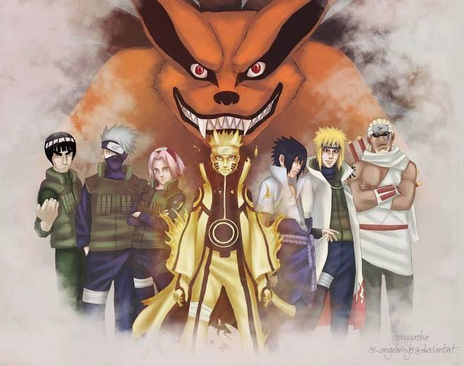 Naruto And Teman-Teman :) !!!