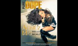 Pose Agnes Monica di Depan Sampul Majalah Terbitan Amerika Serikat