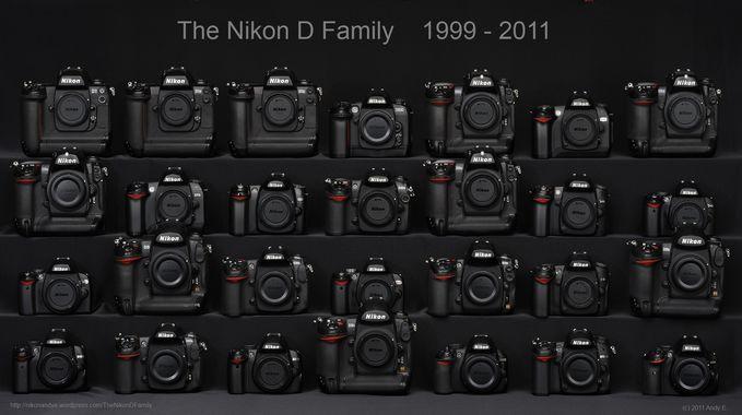 The Nikon D Family :D Kalian Mau Milih Yg Mana ?