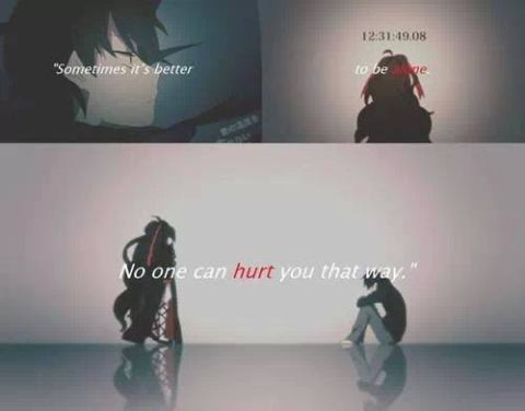 no one can hurt you that way ^^