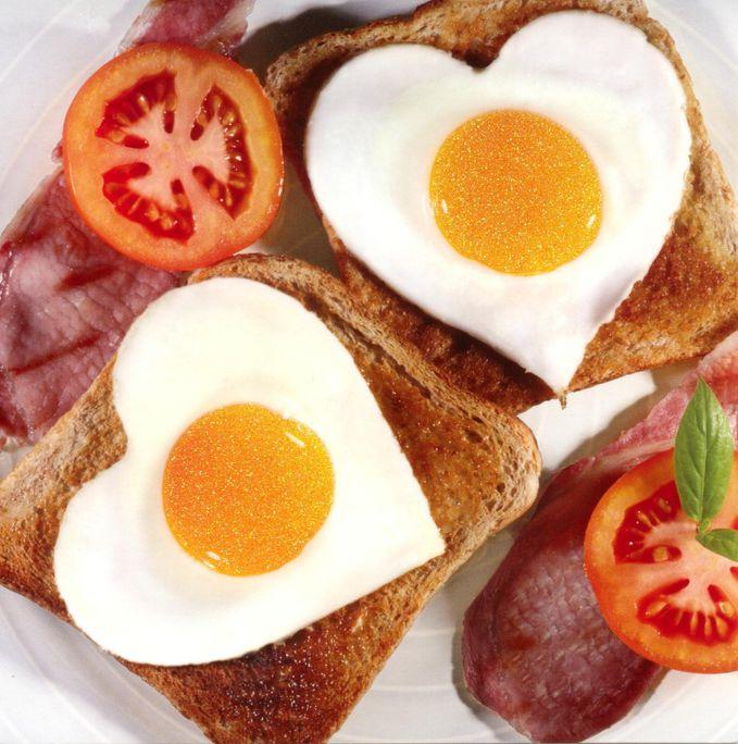 Как сделать вкусный завтрак видео